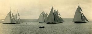 J-Class racing in Weymouth Bay 1928